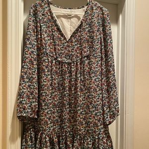 J. Crew   Floral Flowy dress